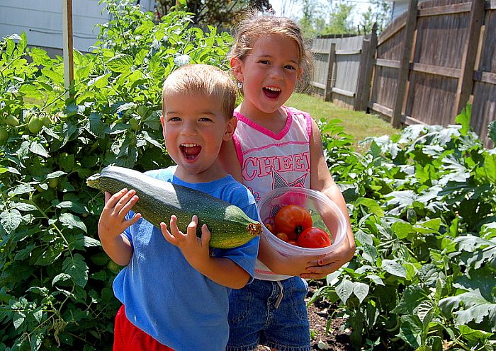 Chipper Tips 5 Reasons to Have a Kids Garden Lets Go