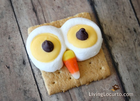 Owl S'mores Chipper Snacks