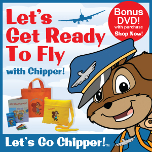 Get Ready to Fly with Chipper's Airplane Activity Kit