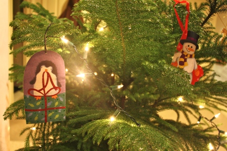 Recycle Christmas Tree Ornament Craft