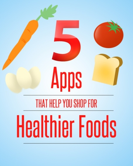 5 Apps That Help you Shop for Healthier Foods!