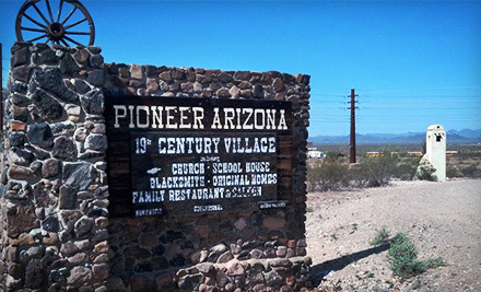 Pioneer Arizona Living History Museum | Young visitors meet the Old West at this re-created pioneer village, where your family can explore life as it was in Arizona a century ago. Stroll past historic buildings that range from a schoolhouse to the blacksmith's shop to an opera house. Since this was rancher country, there's plenty of livestock on hand to capture your kids' attention. Arrive in time for the re-enactment performed daily at 11:30 a.m. and you'll even have an encounter with the sheriff, his deputies, and the bank robbers they're pursuing. The show culminates with a shoot-out, after which the actors sign autographs.