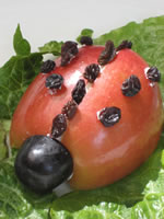 Let's go Chipper | Lady Bug Snack and Recipe for kids