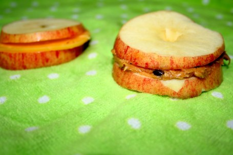 Apple snack Recipe for Kids