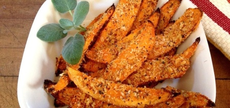 Sweet Potato Fries Snack Recipe for Kids