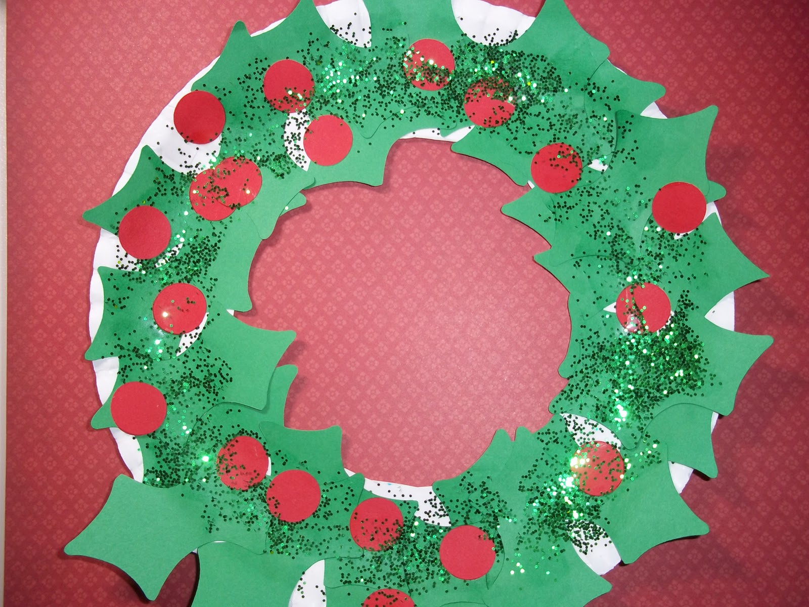 Chipper recycled crafts for kids paper plate christmas decorations