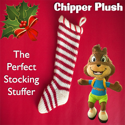 Chipper Plush Holiday Gift