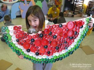 Bottle Cap Plastic Lid Recycle Art