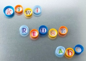 Plastic Bottle Cap Lid Recycle Craft | Refrigerator Magnets