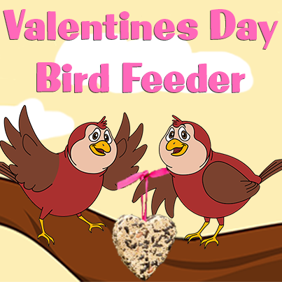 Bird Feeder Heart