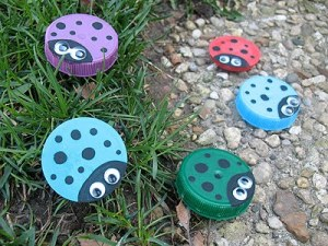 Plastic Lid bottle Cap Recycle Craft