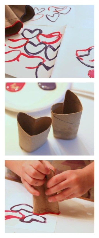 Valentines Day Recycle Craft for Kids