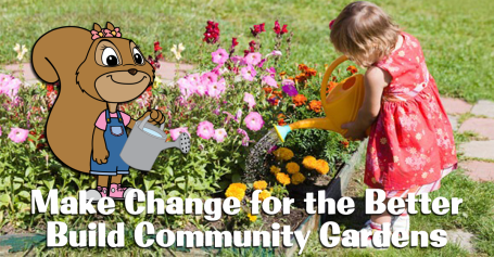 Let's Go Chipper | Making Change for the Better | Build Communty Gardens