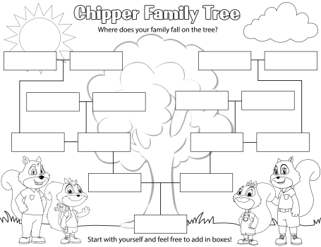 Chipper Family Tree