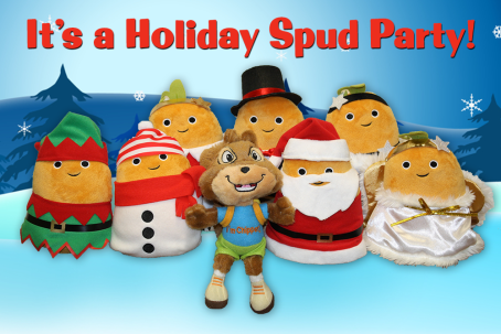 Chipper Holiday Spud Party