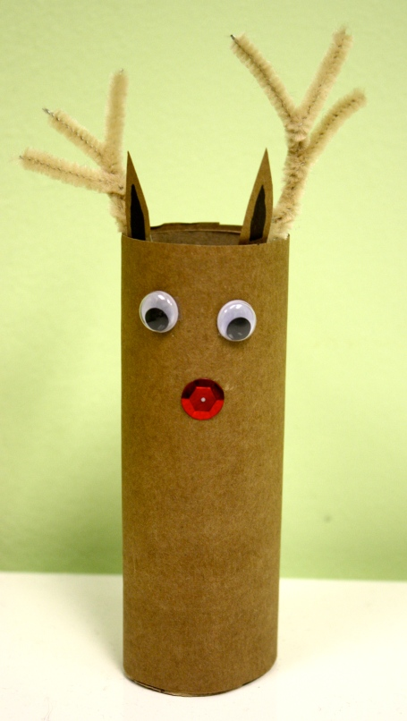 Toilet Roll Reindeer, Reindeer Craft, Reindeer Craft for Kids, Holiday Craft, Recycle Christmas Crafts, Recycled Holiday Craftts